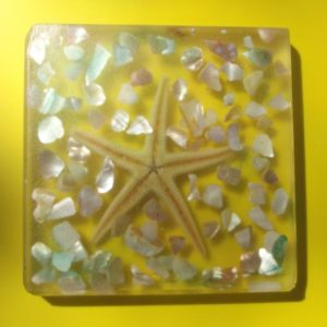 Coaster - Resin - Beach (1)