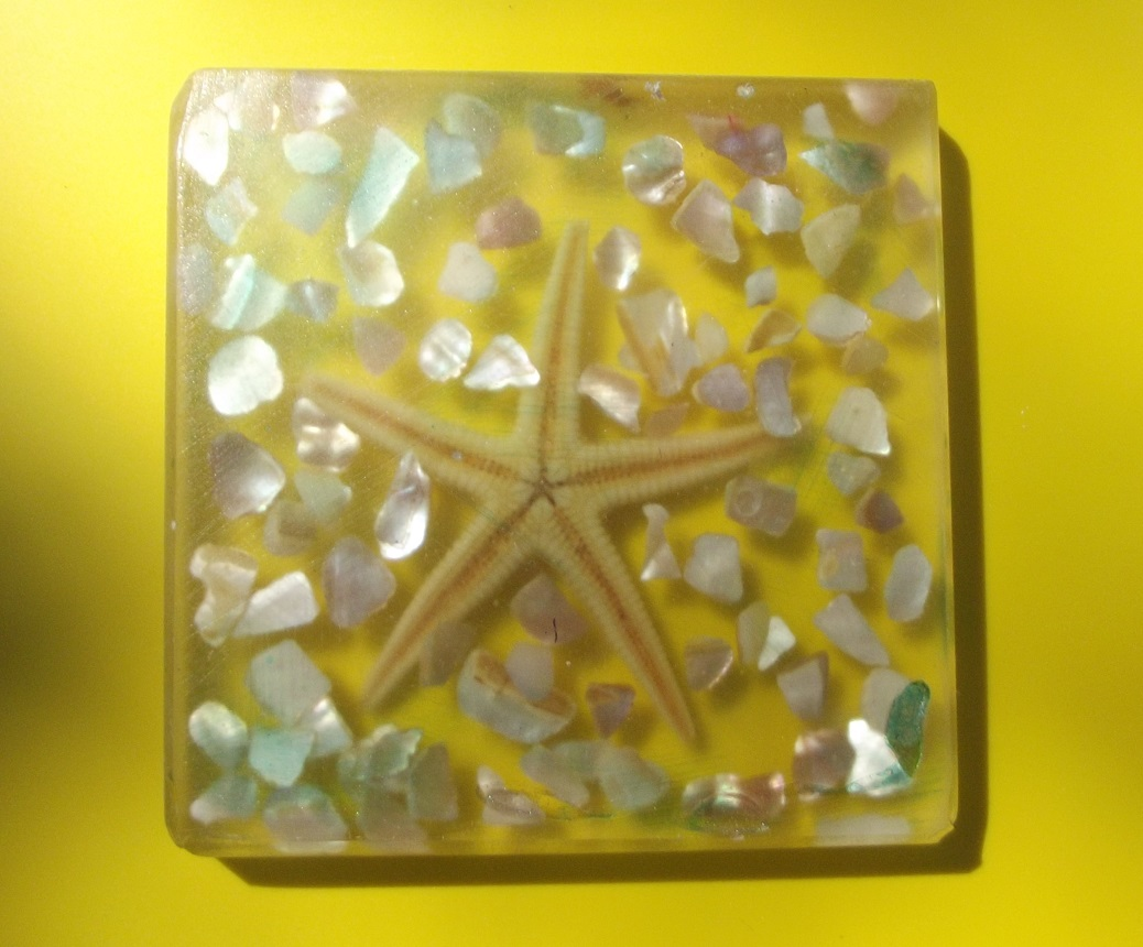 Resin Art Coasters – Solid Resin (Large)