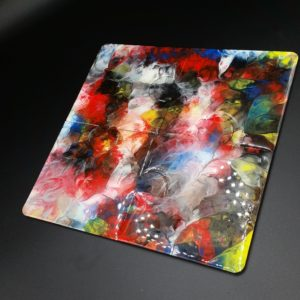 Jig Saw Resin Coaster Set