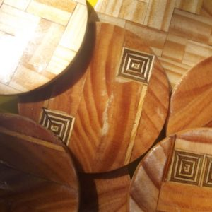 Coaster - Round Wood