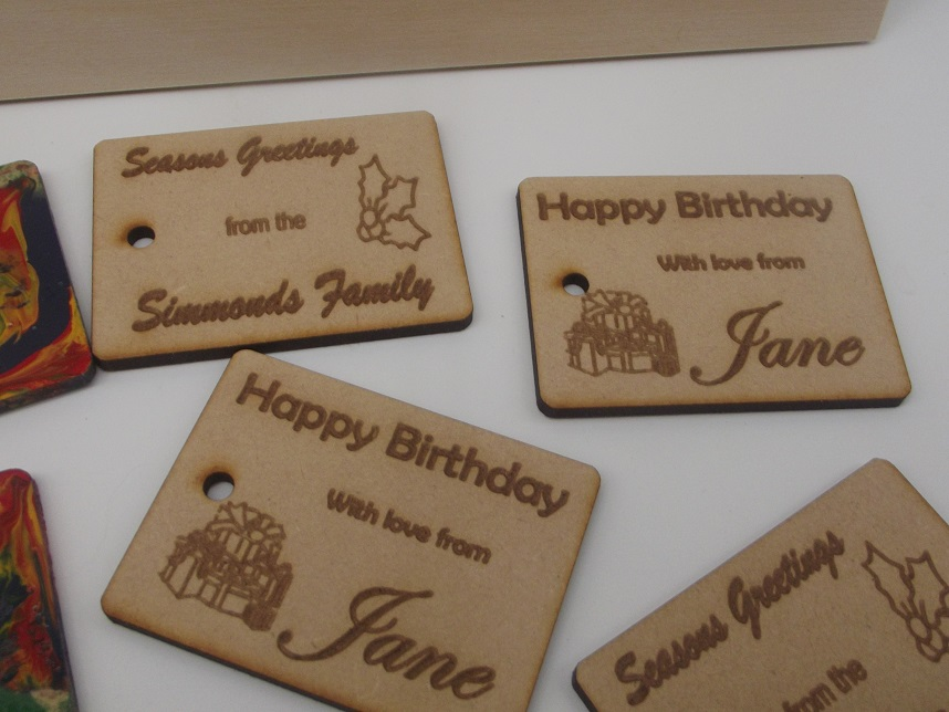 Gift Tags (pack of 10) – Personalised